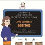 Iscrizioni corsi serali anno scolastico 2015/2016