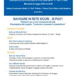 Locandina Navigare in rete sicuri...si puo'-25-05-16