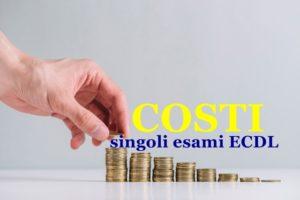 I nostri costi dei singoli esami ECDL ~ Corsi serali